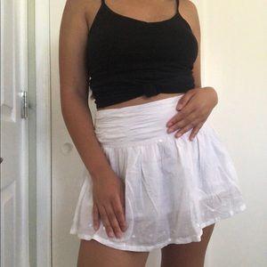 Vintage Wet Seal White Y2K Inspired Mini Skirt 🍬